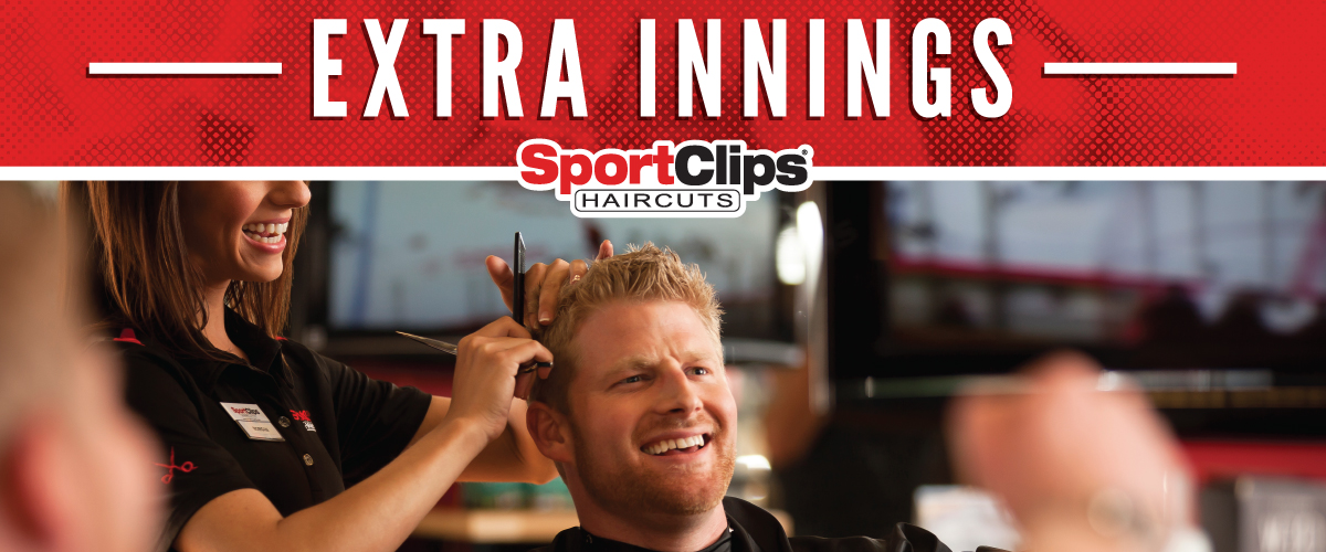 The Sport Clips Haircuts of Lancaster - Valley Central Extra Innings Offerings